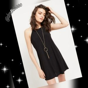 💥NWT New High Neck Necklace Swing Dress